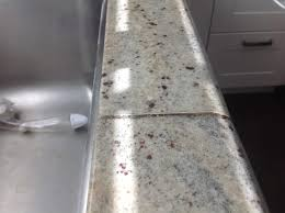 botched stone job from tile expo anaheim ca the seam never goes