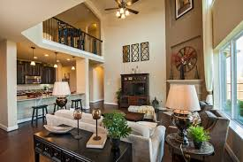 Meritage Homes Home Builders Crimson Plan at Riverstone Auburn Manor traditional living room