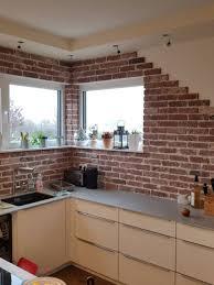backsteinriemchen antik edel küchen design ideen küchen