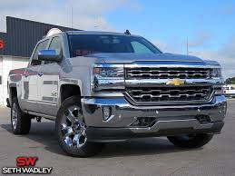 100 Chevy Ltz Truck 2018 Silverado 1500 LTZ 4X4 For Sale Ada OK