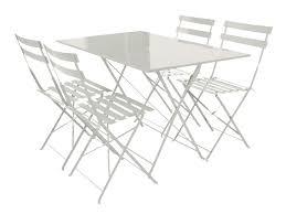table jardin metal pliante table jardin metal couleur maisondours