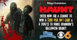 Kings Dominion Halloween Haunt Schedule by 122 Prize Ideas For Every Contest On Your Calendar Second Street Lab