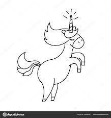 Como Desenhar Um Unicornio Kawaii 02 Imagens Para Colorir De Unicornios Fofos