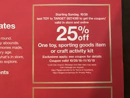Reminder That The Target 25% Off Coupon Starts Today Public Opinion 2014 Four Coupon Inserts Ship Saves Best Cyber Monday Deals At Amazon Walmart Target Buy Code 2013 How To Use Promo Codes And Coupons For Targetcom Get Discount June Beauty Box Vida Dulce Targeted 10 Off 50 From Plus Use The Krazy Lady Target Nintendo Switch Console 225 With Toy Ecommerce Promotion Strategies To Discounts And 30 Off For January 20 Sale Store Coupons This Week Ends 33118 Store Printable Coupons Coupon Code New Printable