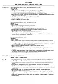 Senior Technical Support Resume Samples Velvet Jobs Sample As Image File Examples Objective It R