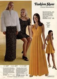 Teen Girls Dresses 1973