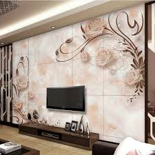 papier peint bureau ordinateur personnalisé 3d effet moderne photo de mode mur papier salon