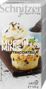 glutenfreie bio stracciatella muffins sweet delight 120 g
