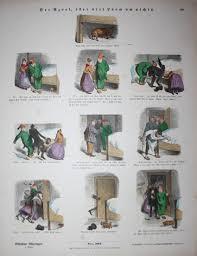 der azorl oder viel lärm um nichts hund hunde schlafzimmer bildergeschichte münchener bilderbogen nr 503