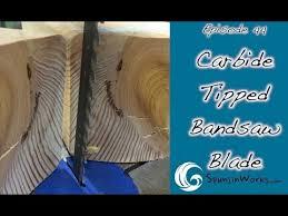 lenox tri master carbide tipped bandsaw blade ep 44 youtube