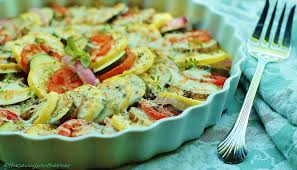 provencal cuisine provençal vegetable tian meatless monday the saucy southerner