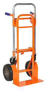 100 Wesco Folding Hand Truck S R Us Orange Crush Convertible 12