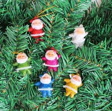 3cm5cm Multi Color Mini Santa Claus Hanging Decor Christmas Tree Ornaments Gift For Kids Collectibles Crafts From Liujg2004