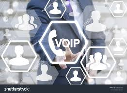 Voip Business Office Communication Social Network Stock Photo ...