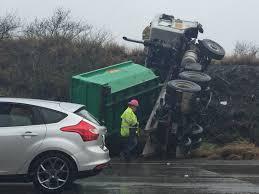 100 Dump Truck Crash Truck Crash Creates Traffic On H1 East Near Makakilo
