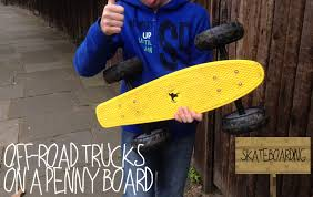 OFF-ROAD TRUCKS ON A PENNY BOARD! - YouTube All Kinds Of Wheels And Related Accsories Maxfind Red Set Tandem Axle Wheel Kit Skateboard Cruiser Longboard Penny Skateboards Raw Skin Surf Shack Mini Board Worker Pico 17 With Light Up Wheels Sportline Will They Shred X The Simpsons Bart 27 Blue Buy At Skatedeluxe Battleship 32 Wtrmln Nickel Hundreds Skater Hq Skatro White Boards Theeve Csx V3 Trucks In Atbshopcouk