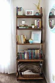 diy ladder bookshelf an easy weekend project shelves creative