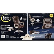 Serta Big And Tall Office Chair 45752 by Amazon Com Serta Big And Tall Bonded Leather Office Chair