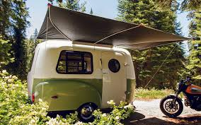 Mini Campers And Trailers That Can Be Towed By Some Four Cylinder Vehicles Small Camper Are Lightweight Bigger Than A Teardrop Trailer
