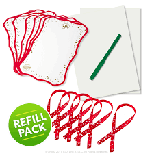 Refill Pack for Scout Elf Express Delivers Letters to Santa