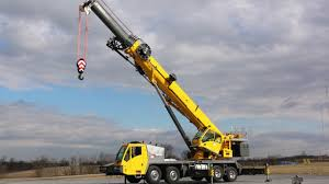 NEW Grove TMS9000-2 - Truck-mounted Crane - YouTube