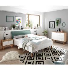 lomadox jugendzimmer set mainz 61 sparset schlafzimmer jugendzimmer kombination scandi stil weiß matt eiche riviera und mint grün