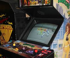 Vintage Ninja Turtles Arcade Machine