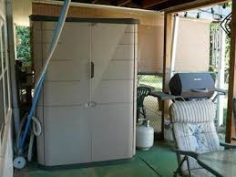 rubbermaid large vertical storage shed 52 cu ft