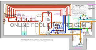 Pump Room Layout VS Plumbing Diagram