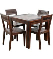Four Dining Room Chairs For Nifty Buy Venus Seater Set Designs