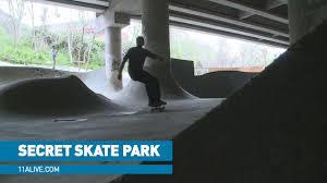 100 Truck Stop Skatepark Secret Skate Park Built Under I85 Just Yards From Bridge Collapse