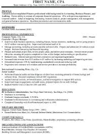 Senior Resume Examples Audit Accountant Electrical Engineer Associate Auditor