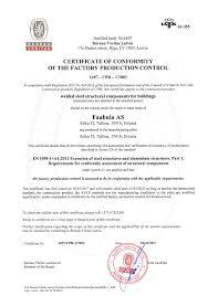 bureau veritas latvia certificates faabula