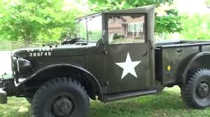 HD VIDEO 1952 M37 MT37 MILITARY DODGE TRUCK T245 FOR SALE WC 51 WC ...