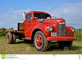 Restored International One Ton Truck Editorial Image - Image Of ...