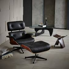 Eames Lounge Chair Reproduction | Mid Century Modern Eames Lounge Chair Ottoman Replica Aptdeco Black Leather 4 Star And 300 Herman Miller Is It Any Good Fniture Modern And Comfort Style Pu Walnut Wood 670 Vitra Replica Diiiz Details About Palisander Reproduction Set