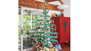 Saran Wrap Christmas Tree With Ornaments by Coastal Christmas Trees Coastal Living