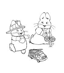 Max And Ruby Coloring Image Photo Album Bridges Pages