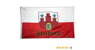 flagge deutschland stadt hamburg harburg 90 x 150 cm