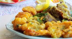 cuisiner le choux fleur beignets de chou fleur sauce blanche cuisine algéroise le