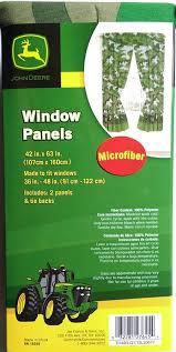 John Deere Bedroom Images by Amazon Com John Deere Green Tractor Window Panels Curtains