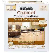 Rustoleum Cabinet Painting Kit by Shop Rust Oleum Cabinet Transformations Light Base Satin Cabinet
