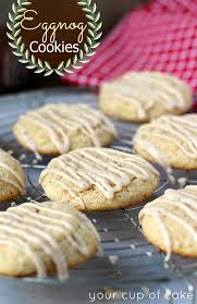 Eggnog Cookies Your Cup of Cake
