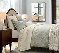 Pottery Barn Master Bedroom by Leather Beds Upholstered Headboards U0026 Beds Pottery Barn For