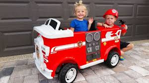 100 Fire Truck Power Wheels Unboxing And Assembling The POWER WHEEL Ride On Engine TRUCK