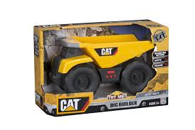CAT Big Builder Dump Truck Vehicle Playset: Amazon.co.uk: Toys & Games