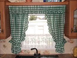 White Kitchen Curtains Valances by Kitchen Brown Kitchen Curtains Black And White Checkered