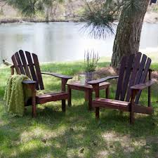 Restrapping Patio Furniture San Diego by Amazon Com Richmond Adirondack Chair Set With Free Side Table