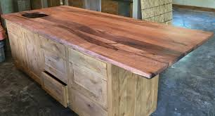 Custom Wood Bar Top, Counter Tops, Island Tops, Butcher Block ... Fniture Mesmerizing Butcher Block Countertops Lowes For Kitchen Bar Top Ideas Cheap Gallery Of Fresh Wood Countertop Counter Tops Antique Reclaimed Lumber How To Stain A Concrete Using Ecostain Bar Stunning 39 Your Small Home Decoration Diy Drhouse Custom Wood Top Counter Tops Island Butcher Block Live Edge Workshop Brazilian Cherry Blocks Blog Countertops Island Pretty Inspiration 20 To Build A Drop Leaf