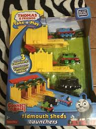Trackmaster Tidmouth Sheds Ebay by Thomas U0026 Friends Take N Play Tidmouth Sheds Launchers Ebay